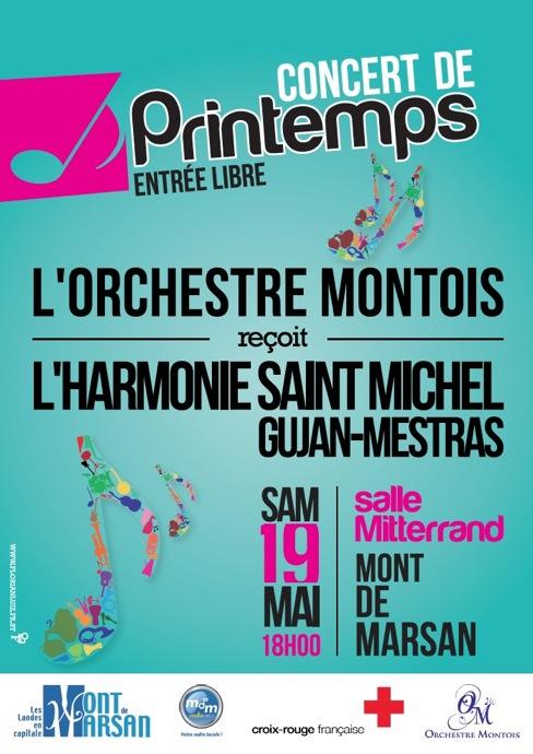 Affiche Concert de Printemps 2012