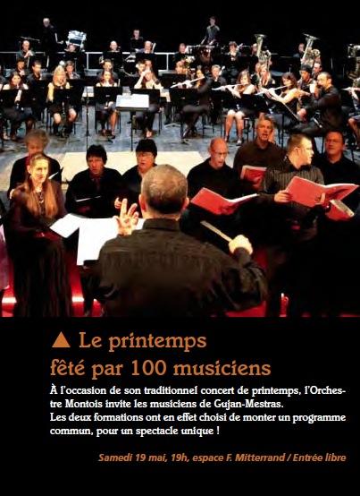 Article M2M concert de printemps 2012