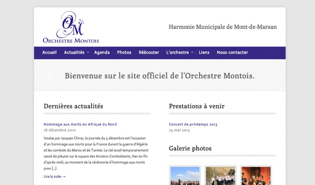 Orchestre Montois - Harmonie Municipale de Mont-de-Marsan